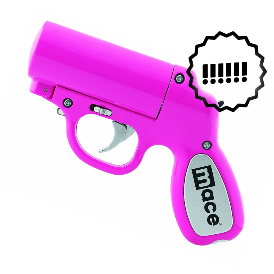 mace pink pepper spray gun