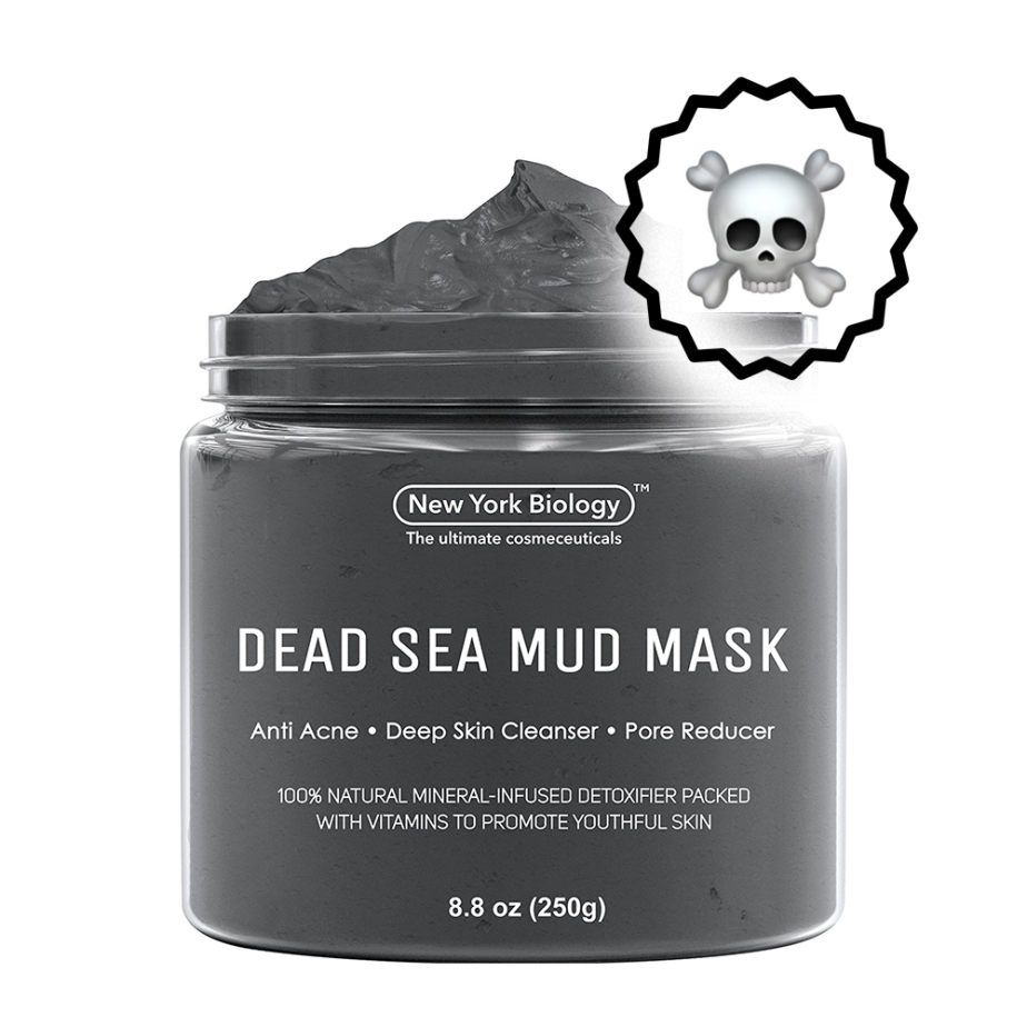 dead sea mud mask anti acne deep pore cleanser